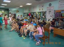 Воспитаники пришкольного лагеря отдыха МОУ СОШ №1