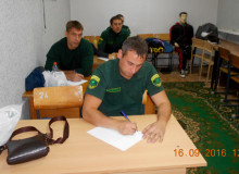 Александр Серов  на тестировании.